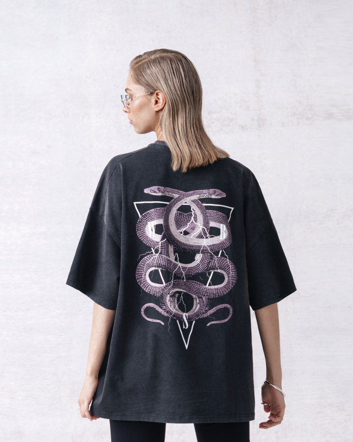 TWISTED T-SHIRT VINTAGE BLACK