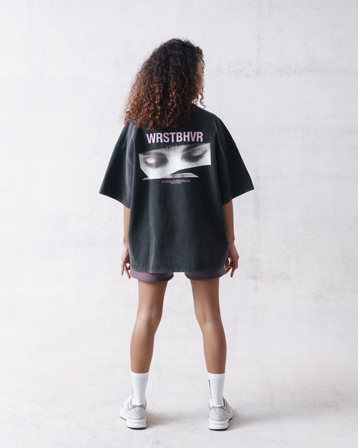 WIDE SHUT T-SHIRT VINTAGE BLACK