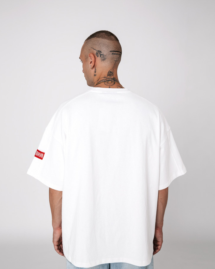 MOOD VOLUME SHIRT WHITE MEN
