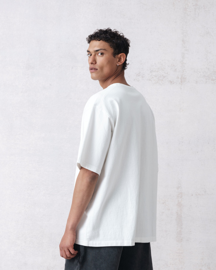 CITIZEN T-SHIRT OFFWHITE WASHED
