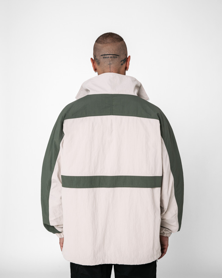 DUSK WINDBREAKER BEIGE MEN