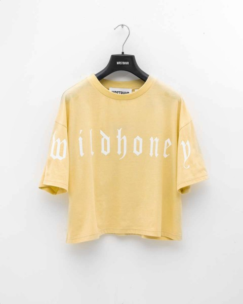 WILDHONEY TEE YELLOW WOMEN