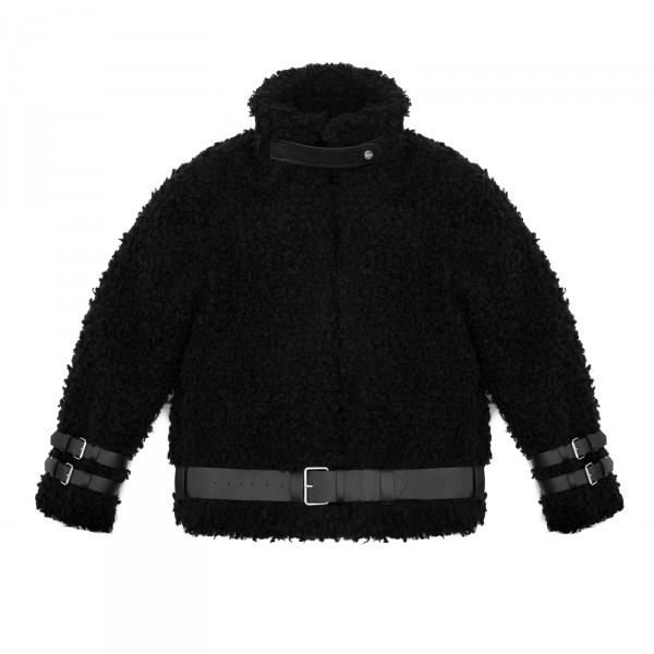 WOLVES JACKET BLACK WOMEN