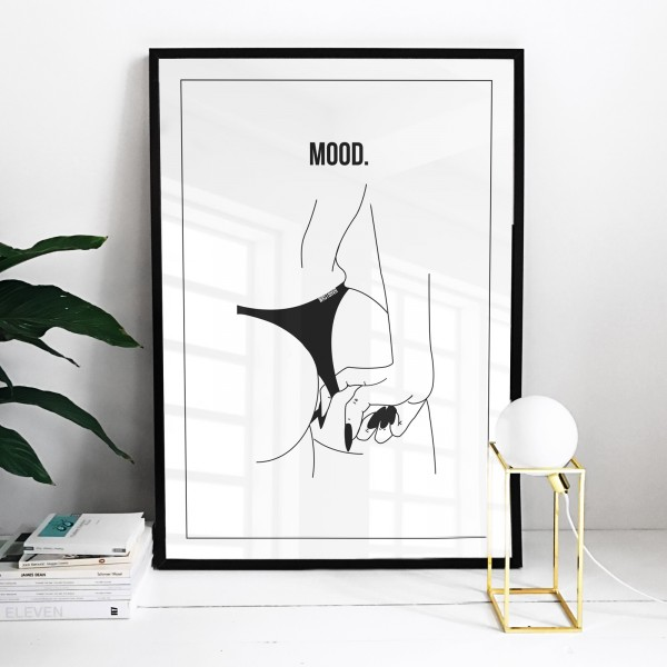 MOODY BOOTY POSTER