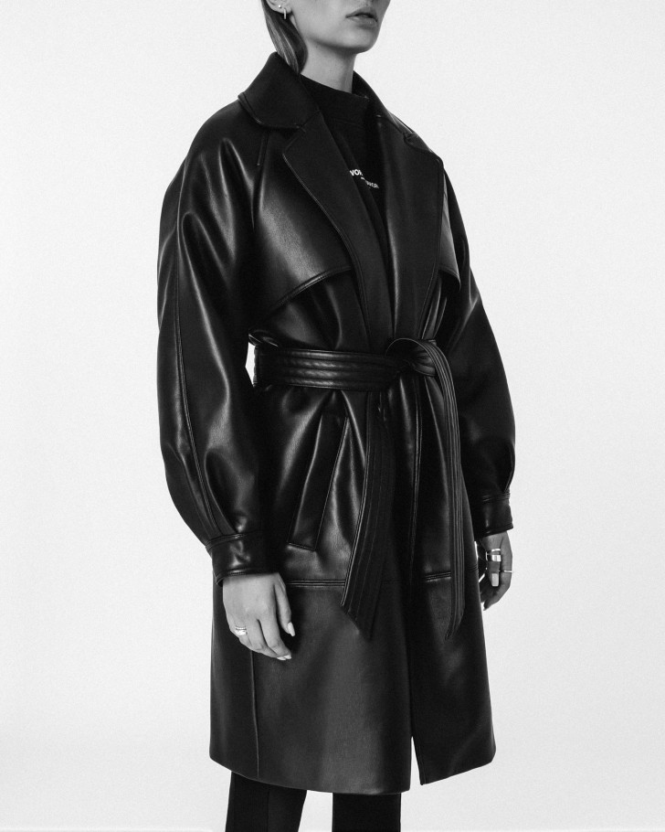 RITA COAT BLACK WOMEN