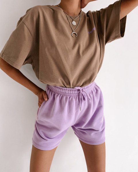 JUNE SHORTS PURPLE WOMEN