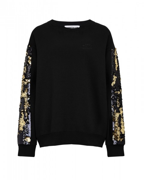 ADORN SWEATER BLACK WOMEN