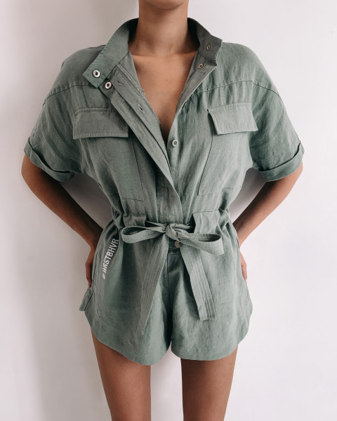 COVER OVERALL OLIVE WOMEN