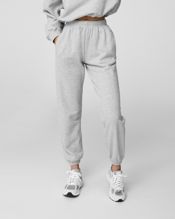 FAITH PANTS GREY MELANGE WOMEN