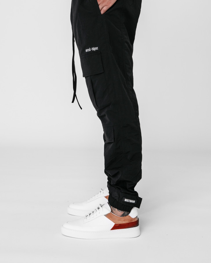 HYDRO CARGO PANTS BLACK MEN