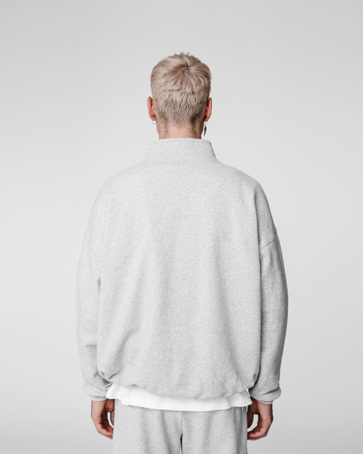ROY SWEATER GREY MELANGE MEN