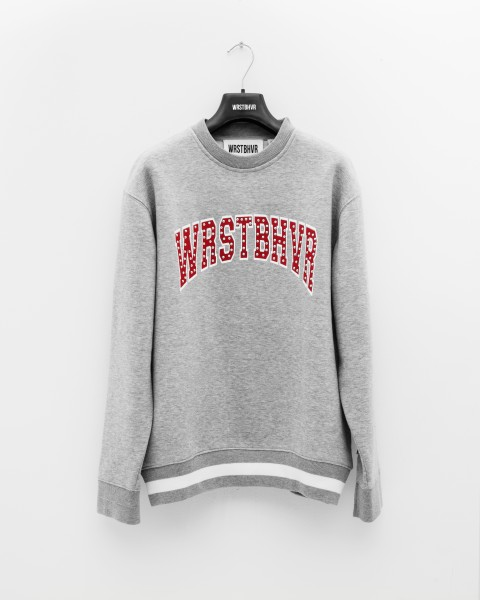 DROPOUT SWEATER GREY WOMEN