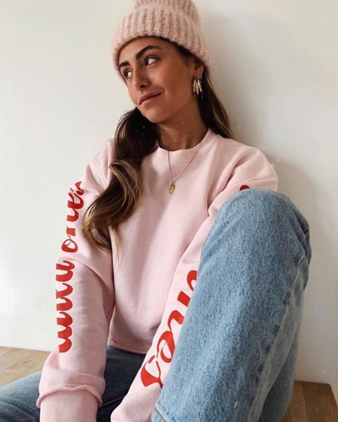 WILDONES SWEATER ROSÉ
