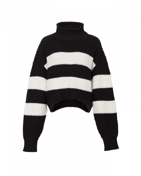 POPPY KNIT SWEATER STRIPED