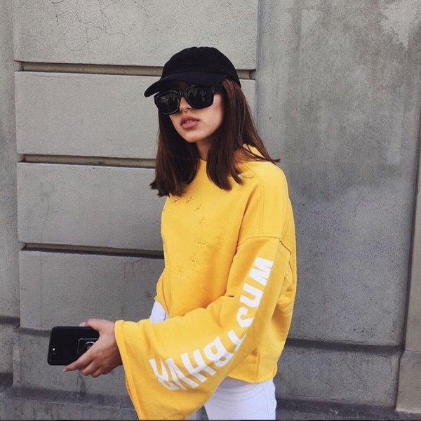 UNION SWEATER YELLOW WOMEN