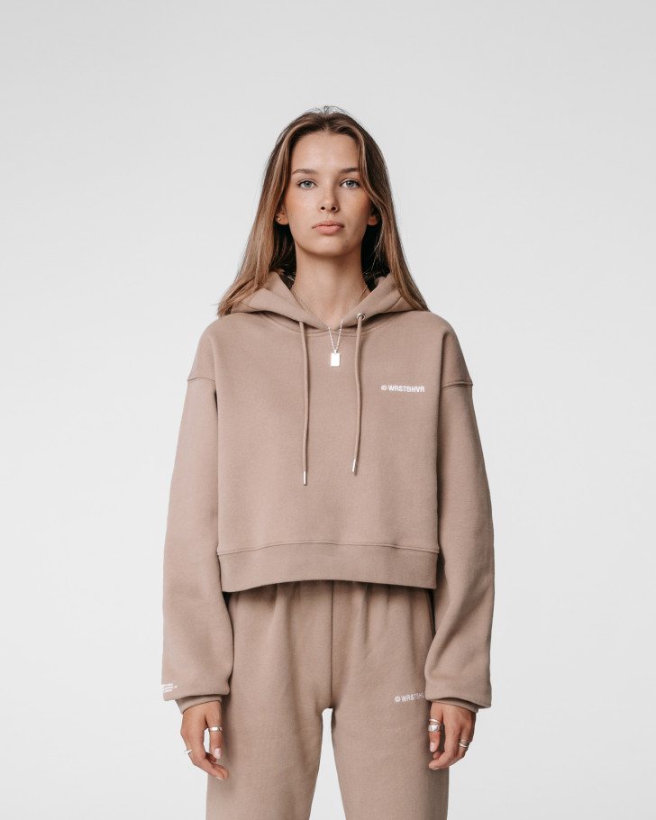FAITH HOODIE ROASTED BEIGE WOMEN