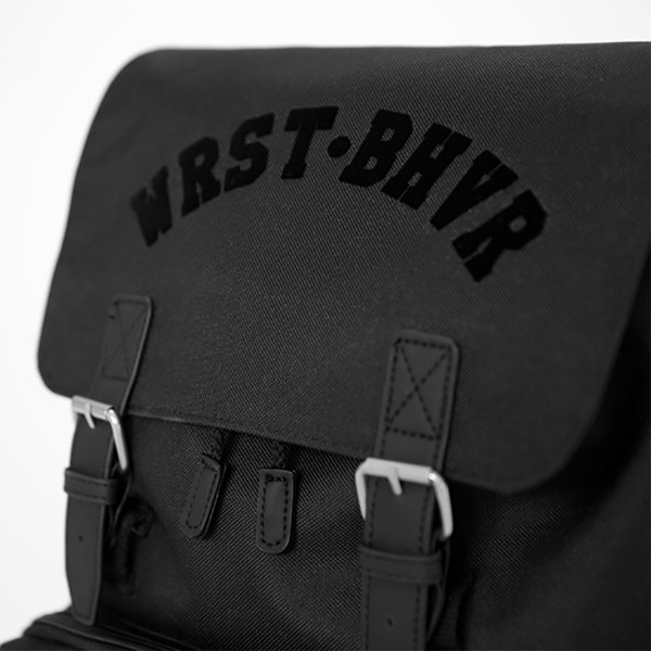 WRSTBHVR BACKPACK BLACK
