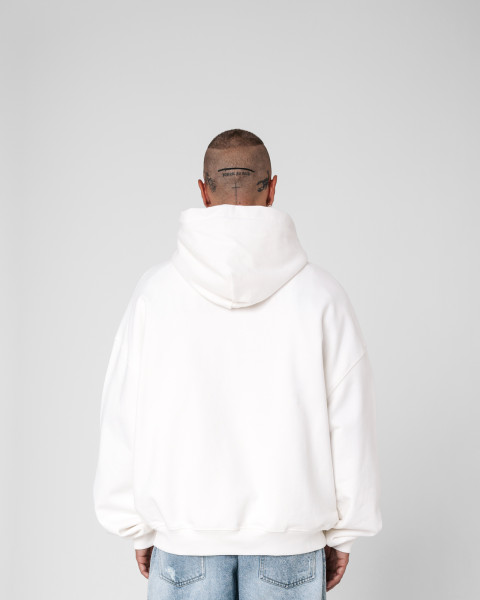 ONLY HOODIE OFF WHITE MEN