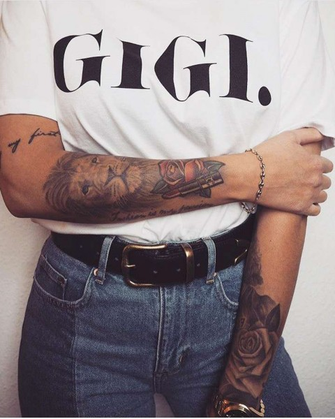 GIGI TEE WHITE WOMEN