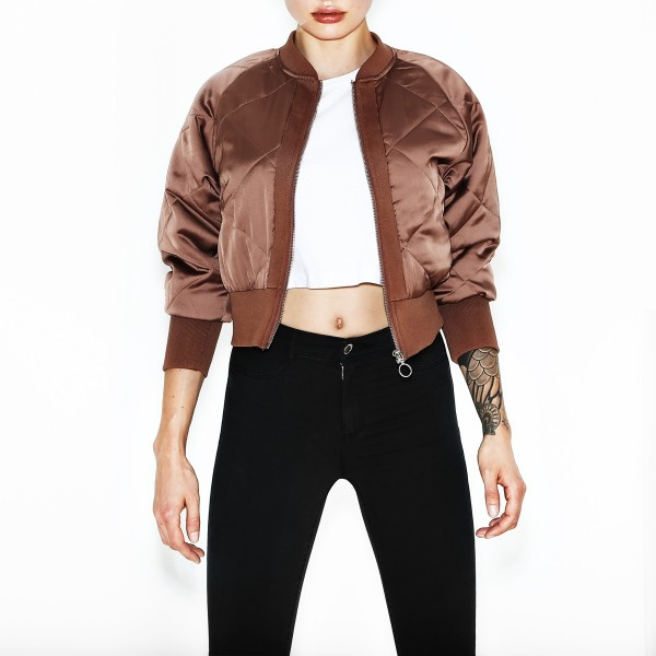 JÁDORE JACKET OXFORD TAN WOMEN