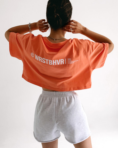 ADA T-SHIRT ORANGE WOMEN