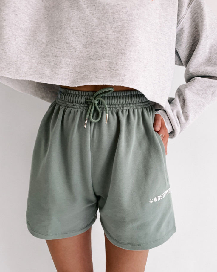 JUNE SHORTS SAGE GREEN WOMEN