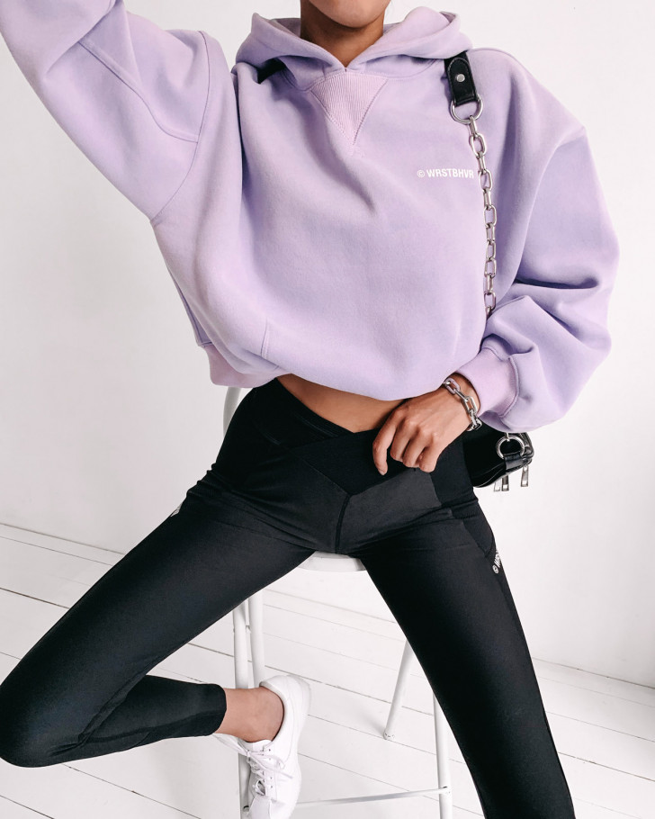 CORBY HOODIE SOFT LILAC WOMEN