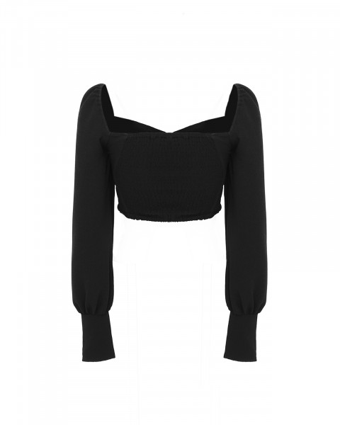 VEGA BLOUSE BLACK