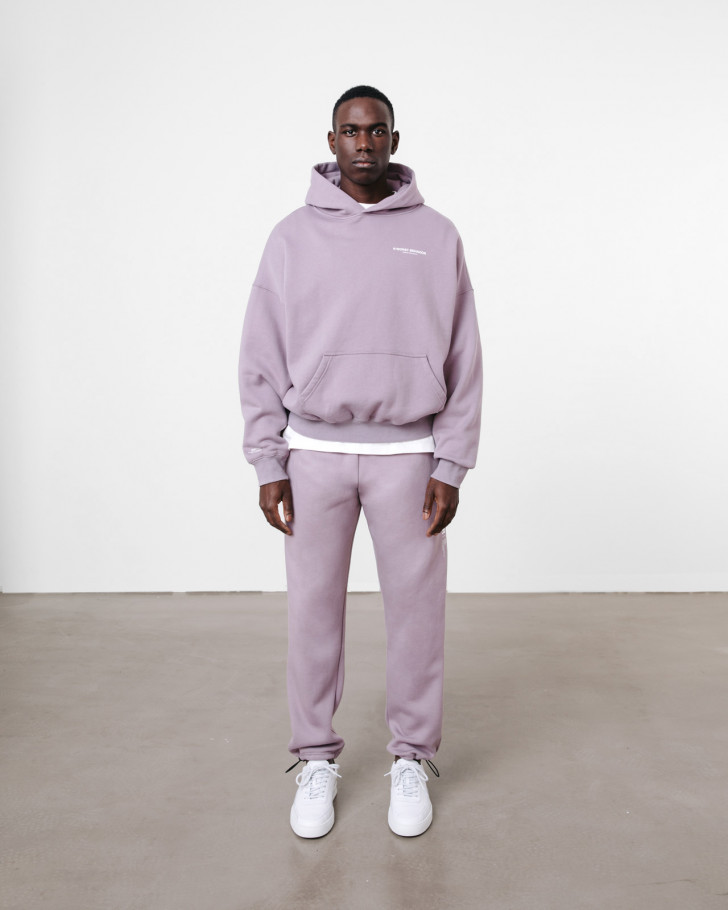 WARREN HOODIE STONE LILAC WASHED