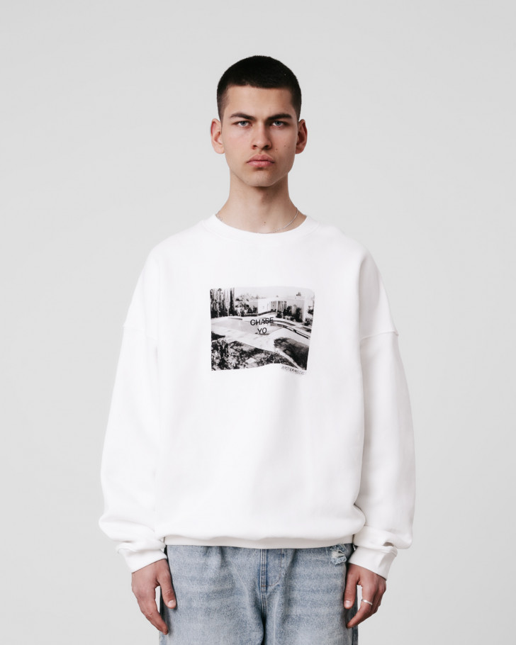 CHASE SWEATER OFFWHITE