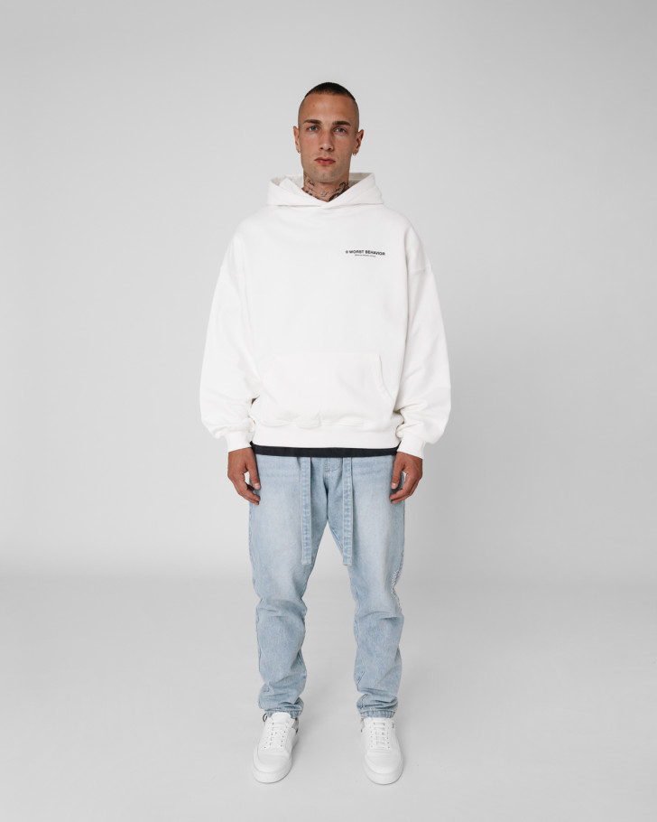 STUDIO HOODIE OFF-WHITE MEN