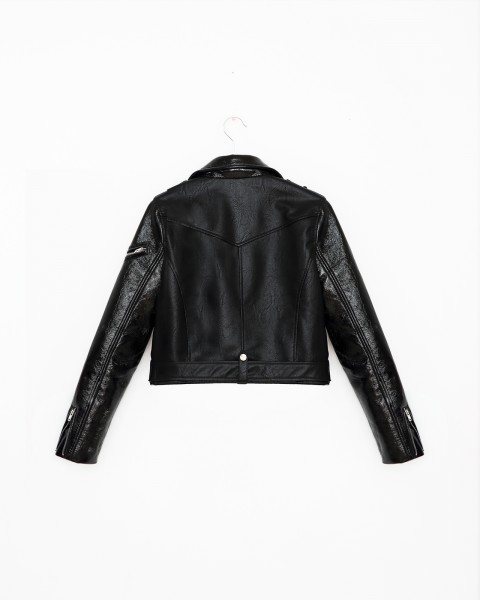 SLOANE BIKER JACKET BLACK WOMEN